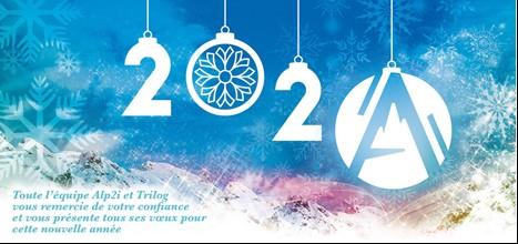Alp2i Medical Solutions – Trilog vous souhaite le meilleur pour cette nouvelle décennie. Bonne année à tous !
